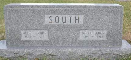 SOUTH, RALPH LEROY - Mills County, Iowa   RALPH LEROY SOUTH
