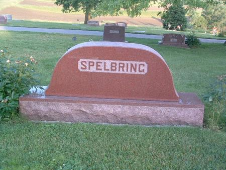SPELBRING, FAMILY HEADSTONE - Mills County, Iowa | FAMILY HEADSTONE SPELBRING