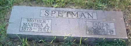 SPETMAN, MARTHA A. - Mills County, Iowa | MARTHA A. SPETMAN