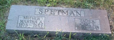 SPETMAN, CARL L. - Mills County, Iowa | CARL L. SPETMAN