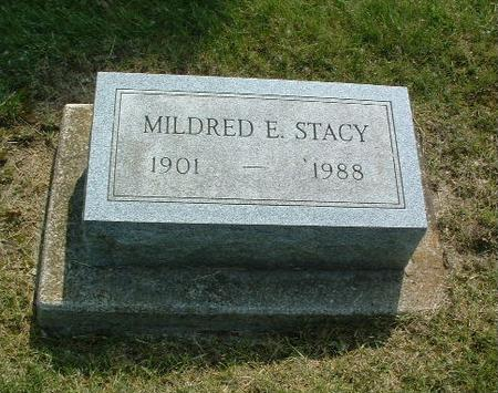 STACY, MILDRED E. - Mills County, Iowa | MILDRED E. STACY