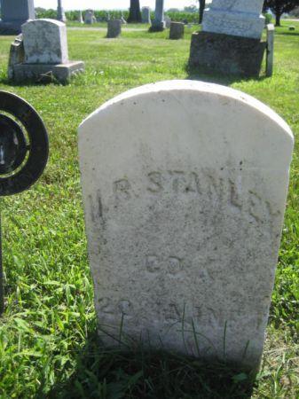 STANLEY, H. R. - Mills County, Iowa   H. R. STANLEY