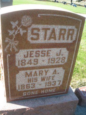 STARR, MARY A. - Mills County, Iowa   MARY A. STARR