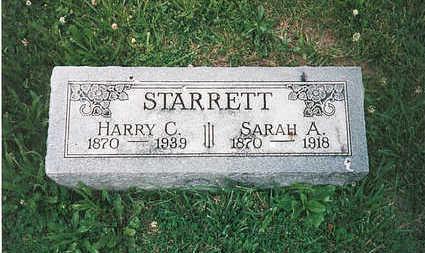 STARRETT, SARAH A - Mills County, Iowa | SARAH A STARRETT