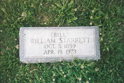 STARRETT, WILLIAM (BILL) - Mills County, Iowa | WILLIAM (BILL) STARRETT