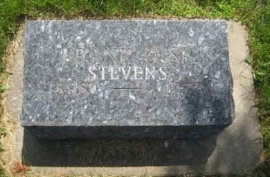 STEVENS, FRANK O. SR. - Mills County, Iowa | FRANK O. SR. STEVENS