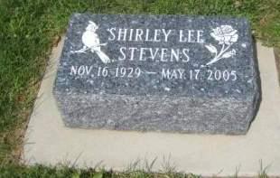 STEVENS, SHIRLEY LEE - Mills County, Iowa | SHIRLEY LEE STEVENS