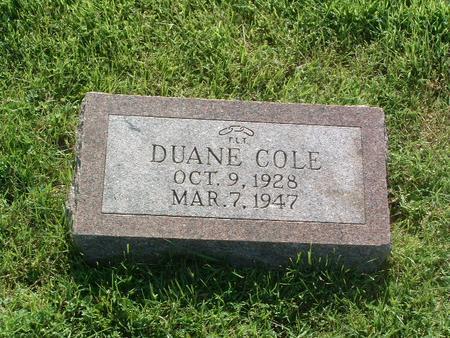 STEWART, DUANE COLE - Mills County, Iowa | DUANE COLE STEWART