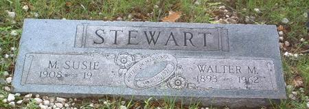 STEWART, WALTER M. - Mills County, Iowa | WALTER M. STEWART