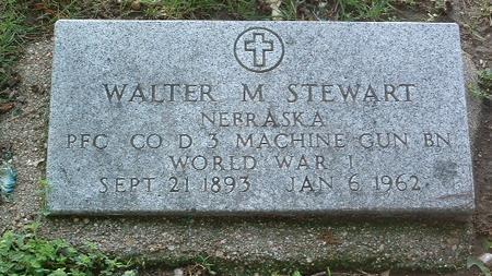 STEWART, WALTER M. - Mills County, Iowa   WALTER M. STEWART