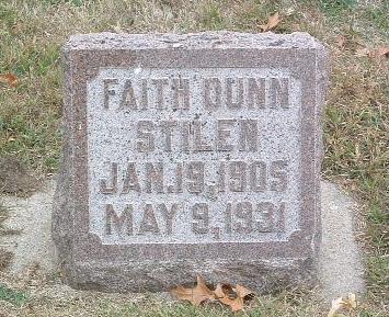 STILEN, FAITH - Mills County, Iowa   FAITH STILEN