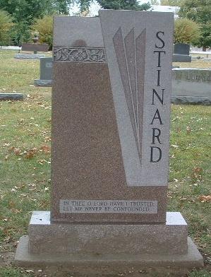 STINARD, FAMILY HEADSTONE - Mills County, Iowa   FAMILY HEADSTONE STINARD