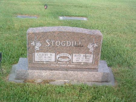STODGILL, ROSE MARIE - Mills County, Iowa | ROSE MARIE STODGILL