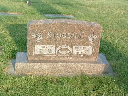 STOGDILL, ROSE MARIE - Mills County, Iowa | ROSE MARIE STOGDILL