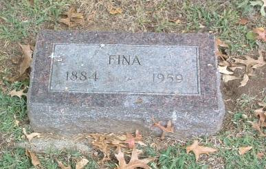 STONE, FINA - Mills County, Iowa   FINA STONE