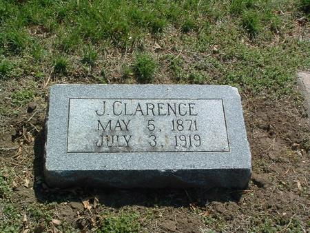 STONE, J. CLARENCE - Mills County, Iowa | J. CLARENCE STONE