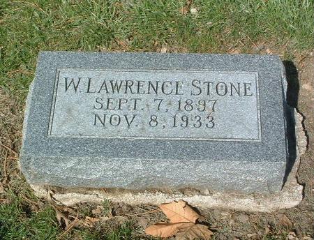 STONE, W. LAWRENCE - Mills County, Iowa | W. LAWRENCE STONE