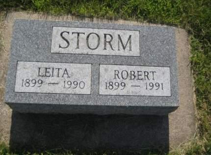 STORM, LEITA - Mills County, Iowa   LEITA STORM