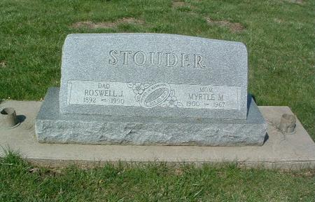 STOUDER, ROSWELL J. - Mills County, Iowa | ROSWELL J. STOUDER