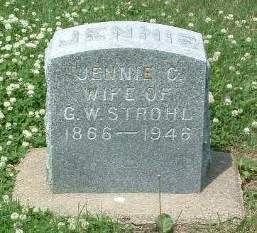 STROHL, JENNIC C. - Mills County, Iowa   JENNIC C. STROHL