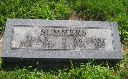 SUMMERS, WM. GRANT - Mills County, Iowa | WM. GRANT SUMMERS