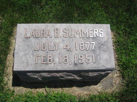 SUMMMERS, LAURA B. - Mills County, Iowa   LAURA B. SUMMMERS