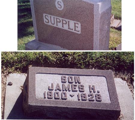 SUPPLE, JAMES H. - Mills County, Iowa   JAMES H. SUPPLE