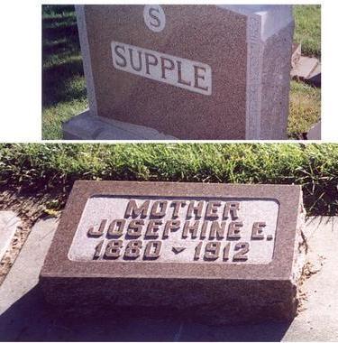 SUPPLE, JOSEPHINE - Mills County, Iowa | JOSEPHINE SUPPLE