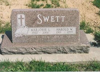 SWETT, MARJORIE LOUISE - Mills County, Iowa | MARJORIE LOUISE SWETT