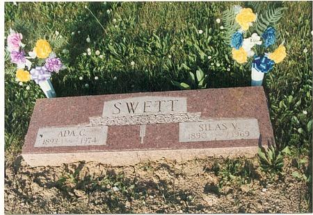 SWETT, SILAS VOLLIE - Mills County, Iowa | SILAS VOLLIE SWETT
