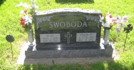SWOBODA, MARY - Mills County, Iowa   MARY SWOBODA