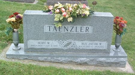TAENZLER, MARY W. - Mills County, Iowa | MARY W. TAENZLER