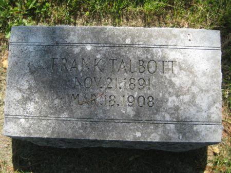 TALBOTT, FRANK - Mills County, Iowa | FRANK TALBOTT
