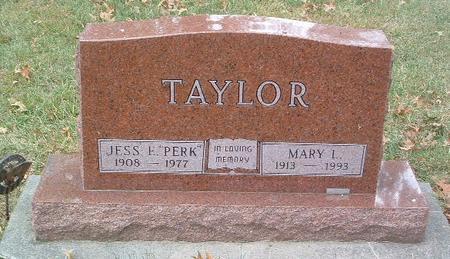 TAYLOR, MARY I. - Mills County, Iowa | MARY I. TAYLOR