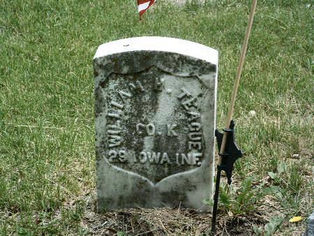 TEAGUE, WILLIAM H. - Mills County, Iowa   WILLIAM H. TEAGUE