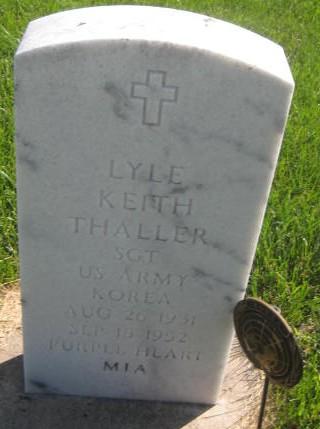 THALLER, LYLE KEITH - Mills County, Iowa | LYLE KEITH THALLER