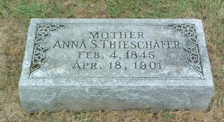 THIESCHAFER, ANNA S. - Mills County, Iowa | ANNA S. THIESCHAFER