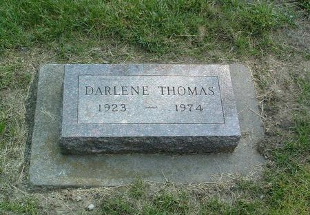 THOMAS, DARLENE - Mills County, Iowa | DARLENE THOMAS