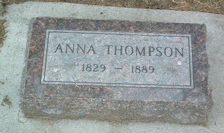 THOMPSON, ANNA - Mills County, Iowa   ANNA THOMPSON