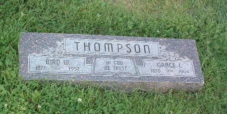 THOMPSON, GRACE I. - Mills County, Iowa | GRACE I. THOMPSON