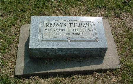 TILLMAN, MERWYN - Mills County, Iowa | MERWYN TILLMAN