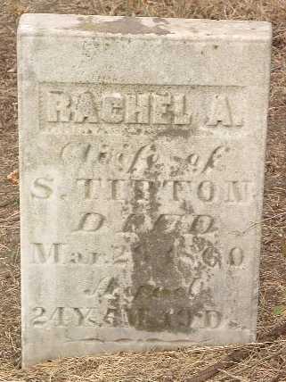 TIPTON, RACHEL A. - Mills County, Iowa   RACHEL A. TIPTON