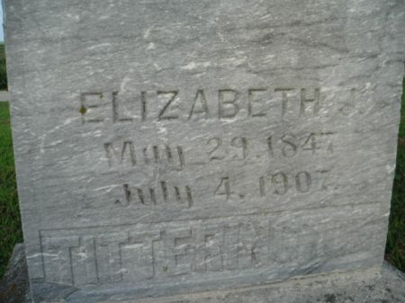 TITTERINGTON, ELIZABETH - Mills County, Iowa   ELIZABETH TITTERINGTON