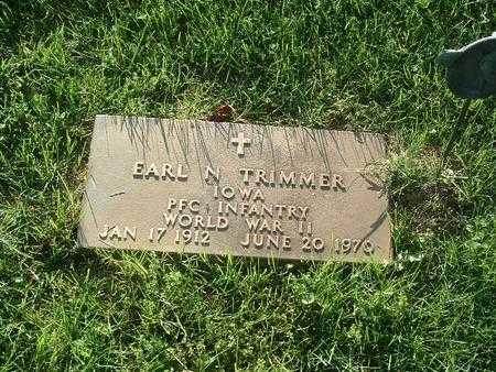 TRIMMER, EARL N. - Mills County, Iowa | EARL N. TRIMMER