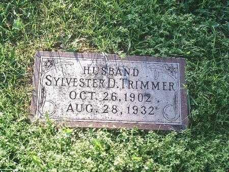 TRIMMER, SYLVESTER D. - Mills County, Iowa | SYLVESTER D. TRIMMER