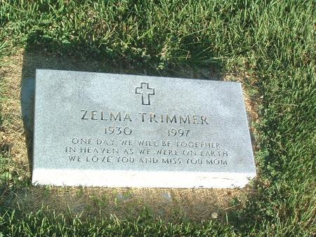 TRIMMER, ZELMA - Mills County, Iowa | ZELMA TRIMMER