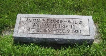 TRIVELY, AMELIA F. PRANGE - Mills County, Iowa | AMELIA F. PRANGE TRIVELY