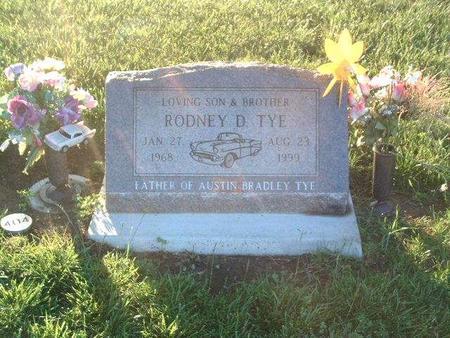 TYE, RODNEY D. - Mills County, Iowa   RODNEY D. TYE