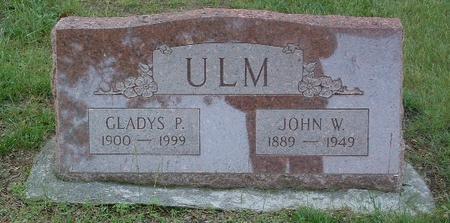 ULM, JOHN W. - Mills County, Iowa | JOHN W. ULM