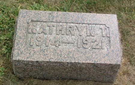 UNKNOWN, KATHRYN T. - Mills County, Iowa | KATHRYN T. UNKNOWN